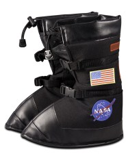 Jr. Astronaut Boots Black