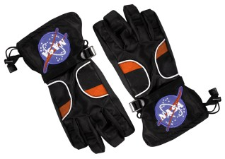 Astronaut Space Gloves Black