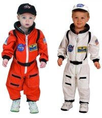 Toddler Astronaut Costume 18 month NASA White or Bright Orange
