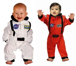 Baby Astronaut Costume  6/12 M
