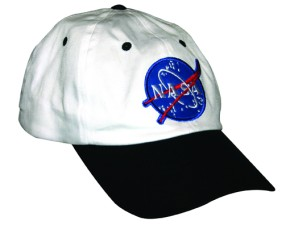Astronaut Cap NASA White