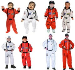 Astronaut Costume Space Suit, Baby, Toddler, Kids, Adult