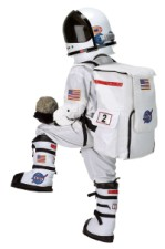 Astronaut Costume, NASA White Space Suit, Helmet, Back Pack, Gloves & Boots (optional)