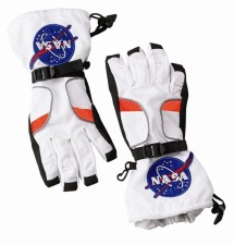 Astronaut Space Gloves NASA White