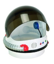 Astronaut Talking Space Helmet
