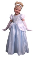 Cinderella Dress Up Girls Princess Dress Halloween Costume Make Believe $26.99
