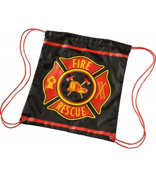 Firefighter Draw String Bag
