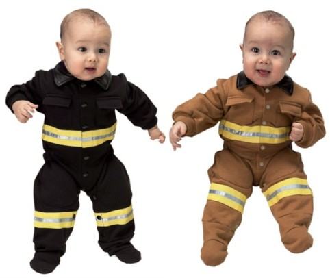 Infant Firefighter Costume Baby 6-12 M