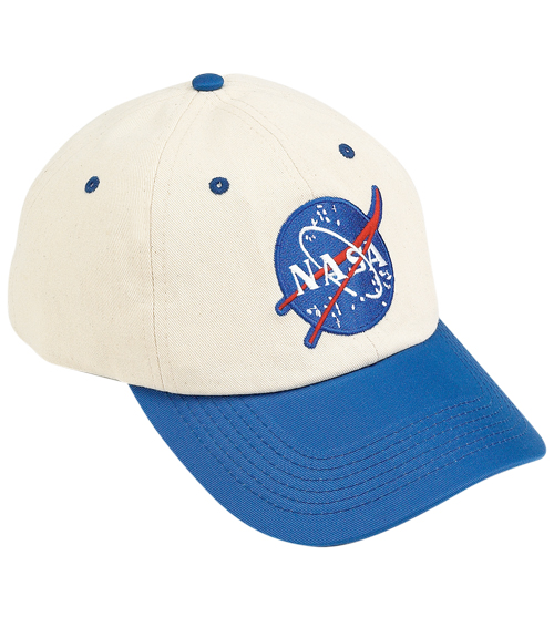 Flight cap blue and white