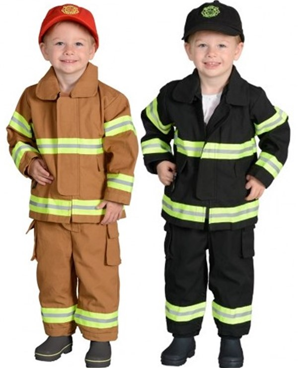 Toddler 18M Firefighter Costume