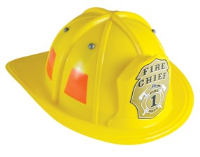 Firefighter Helmet Yellow Child