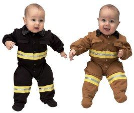 Baby Infant Firefighter Costume 6/12 M