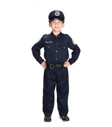 Police Officer Suit Policeman Costume Cop