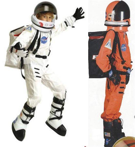 kids astronaut costume helmet back pack boots. Black Bedroom Furniture Sets. Home Design Ideas