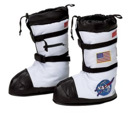 Jr. Astronaut Boots NASA White