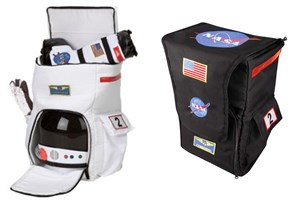 Astronaut NASA White or Black Backpack
