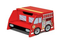 Fire Truck Step Stool