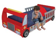 Fire Truck Toddler Bed/Cot